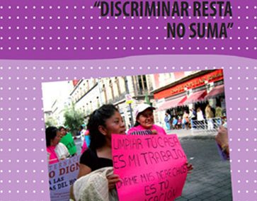 Discriminar resta, no suma